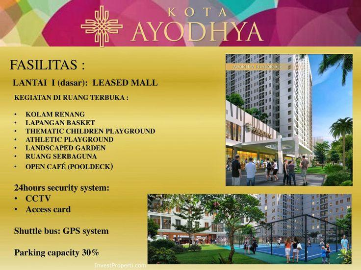Fasilitas Kota Ayodhya Residences