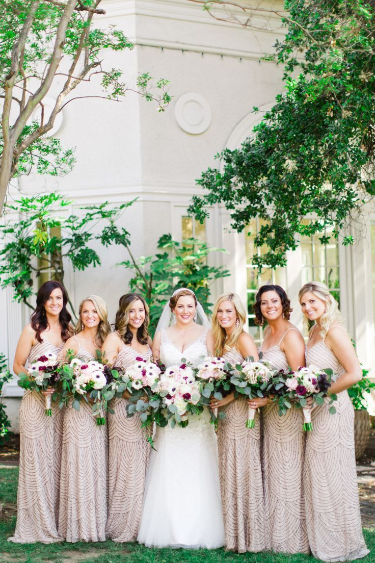 73 best weddings bridesmaids sequin images on pinterest beautiful great gatsby style art deco theme loving the sequined bridesmaids gowns ombrellifo Image collections