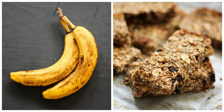 Chia, Quinoa & Banana Granola Bars packed with omega-3, nuts and dried fruit -- naturally gluten free.