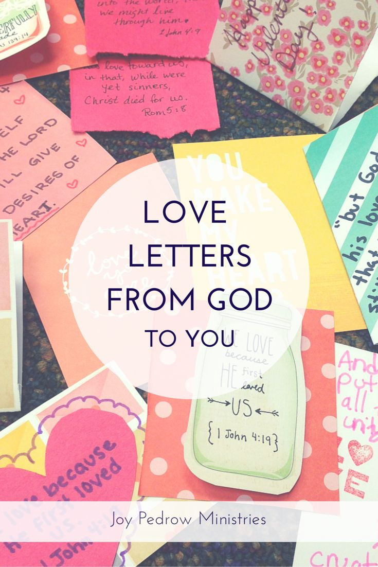 NEW POST: You know those nights where you feel so unloved and alone? When you wish you could have someone to hold you and tell you they love you? The love we experience on earth will never compare to God's love. Did you know that God's word is a love letter to us?