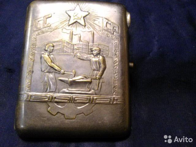 Портсигар СССР, металл 30-е гг.Размер : 8, 5см*11 см.Разумный торг._________________________Звонить с.11 до 19