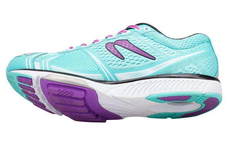 Women's Newton Running Teal running shoes - #vegan