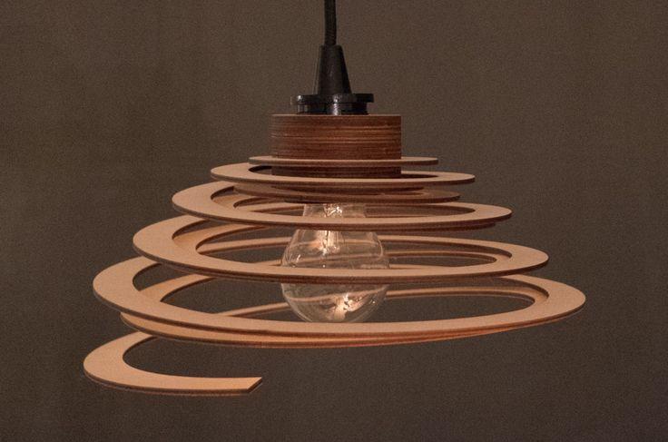 coucoufou – Individuelles Lampendesign.  Alles zur Spirallampe unter http://coucoufou.de/