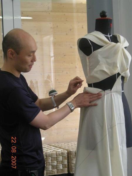 Оригами в дизайне костюма