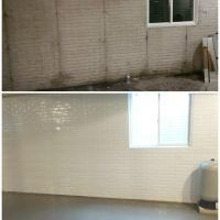 Basement Waterproofing with SaniTred