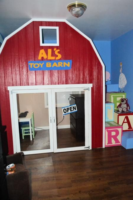 Toy Story 2 Loft Bed | Do It Yourself Home Projects from Ana White.. My J would love this!