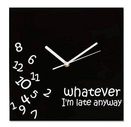 Amazon.com - Whatever Wall Clock by Decodyne