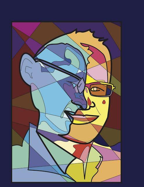 Project ART-A-DAY: Lesson: Cube Yo' Face! (Aka Picasso Portraits)