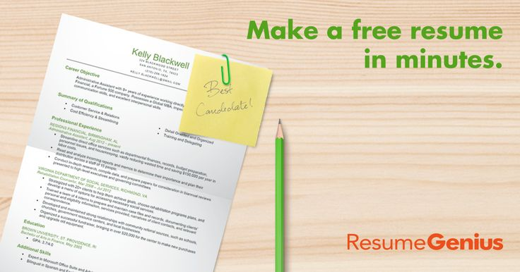 Download free resume templates from Resume Genius. Our battle-tested resume designs are proven to land interviews. Beautiful layouts, pick your favorite.