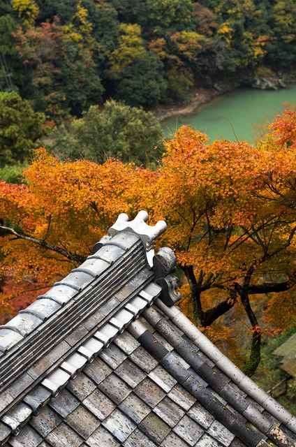 Hozu Gorge, Kyoto, Japan
