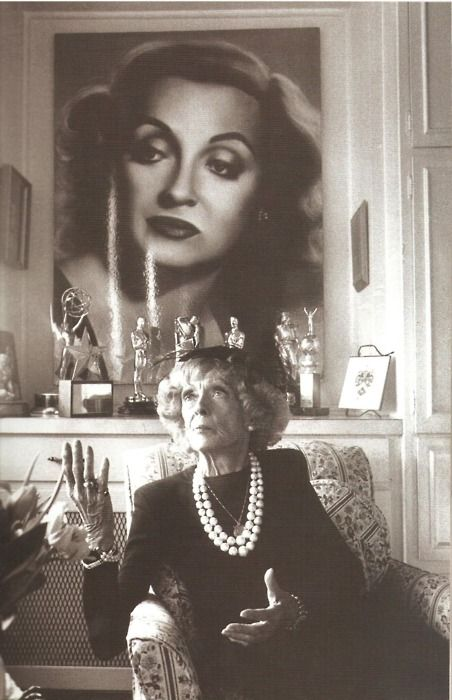"""Old age is no place for sissy's."" Bette Davis (a great actress)"