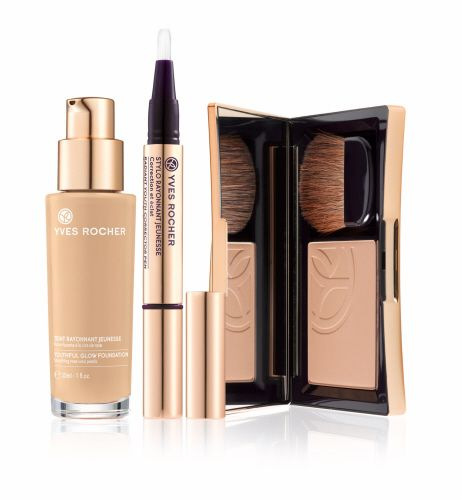 Discover our new Youthful Glow Formulas! #yvesrocherusa #foundation #complexion