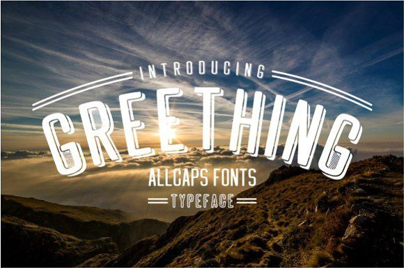 Greething Sans by Jamalodin on @creativemarket