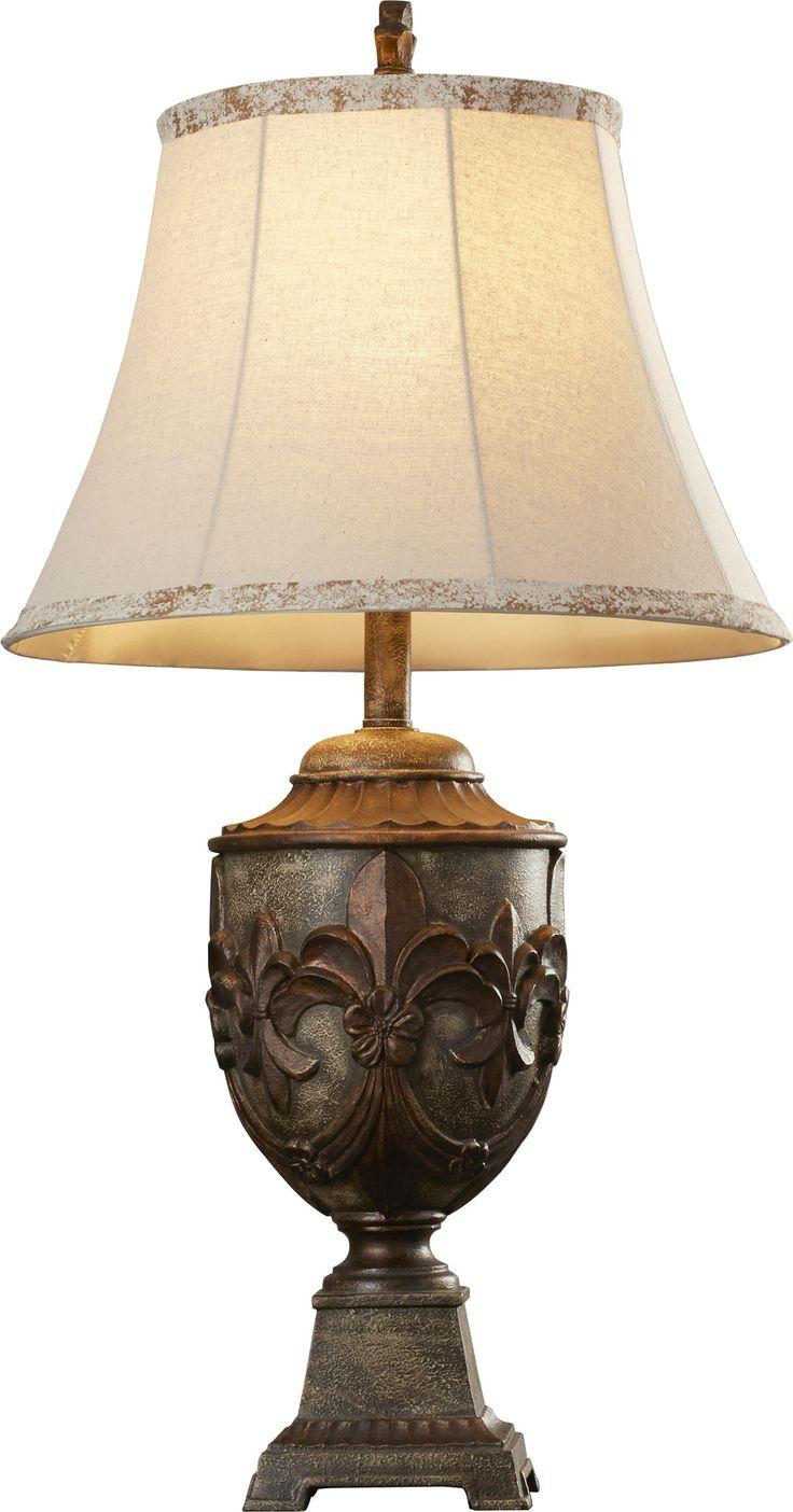 564 best fleur de lis images on pinterest fleur de lis bedroom huddleson 32 table lamp geotapseo Gallery