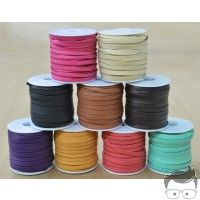 """Leather Lace Deerskin Spool 3/16"""" x 50' lacing 3 ounce thickness"""