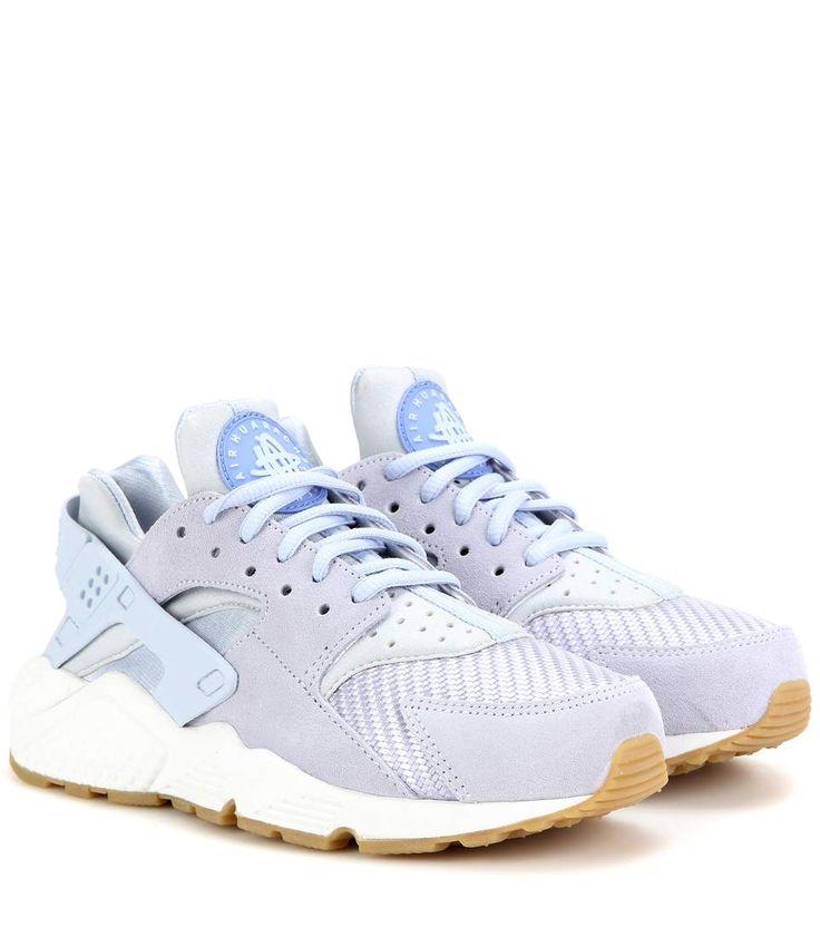 Nike Air Huarache Run Txt light blue sneakers