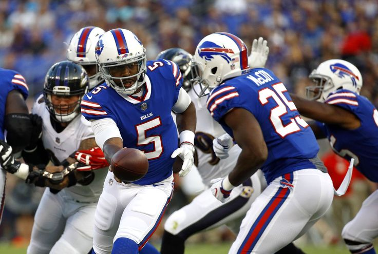 Bills QB Tyrod Taylor leaves game, diagnosed with concussion