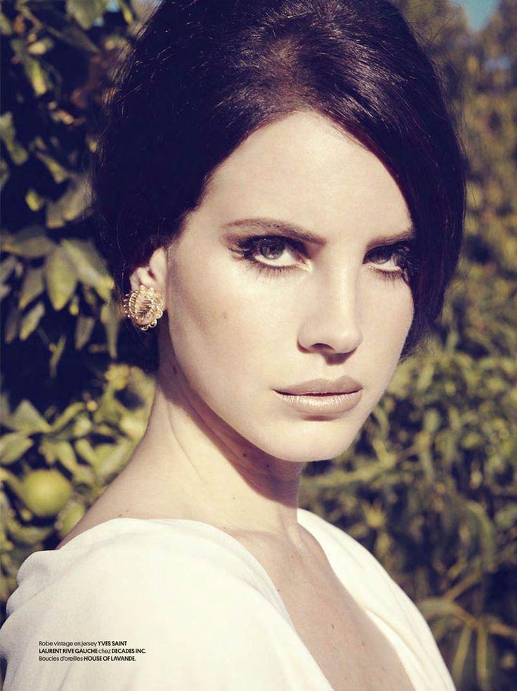 Lana Del Rey  | Vista Nozze: Ispirazioni make up: Lana del Rey per Obsession Magazine