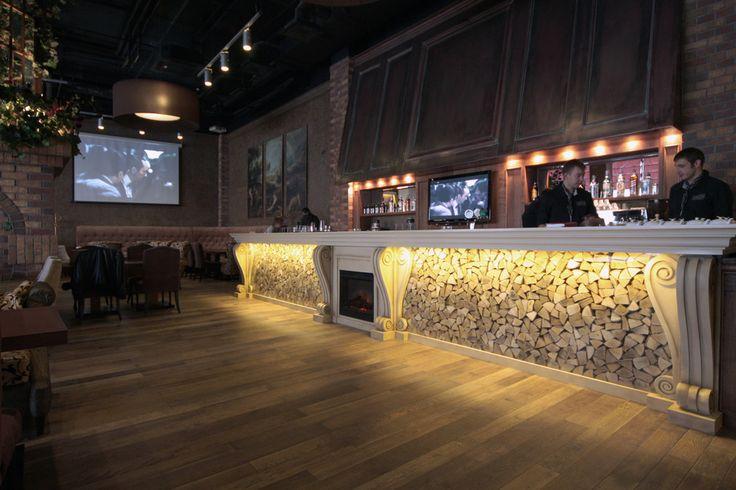 Ресторан Quattro Camini - Лучший интерьер ресторана, кафе или бара   PINWIN - конкурсы для архитекторов, дизайнеров, декораторов