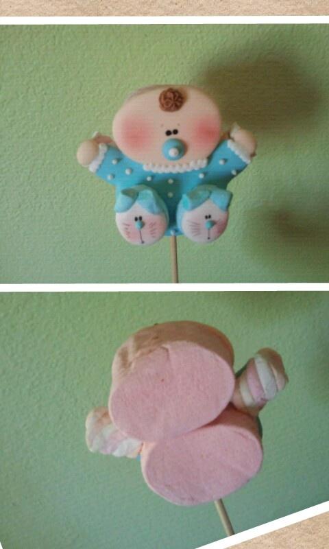 Marshmallow baby pop