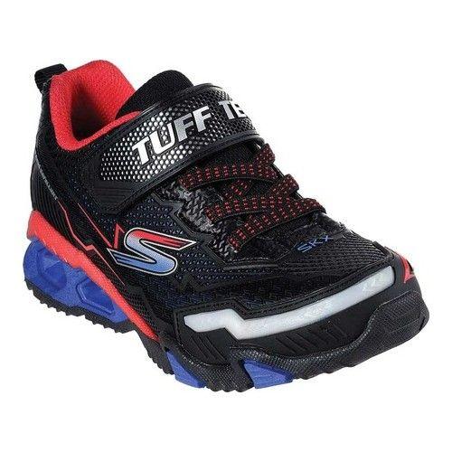 24fb25f2f2c6 Boys  Skechers S Lights Hydro Lights Sneaker - Black Red Blue ...