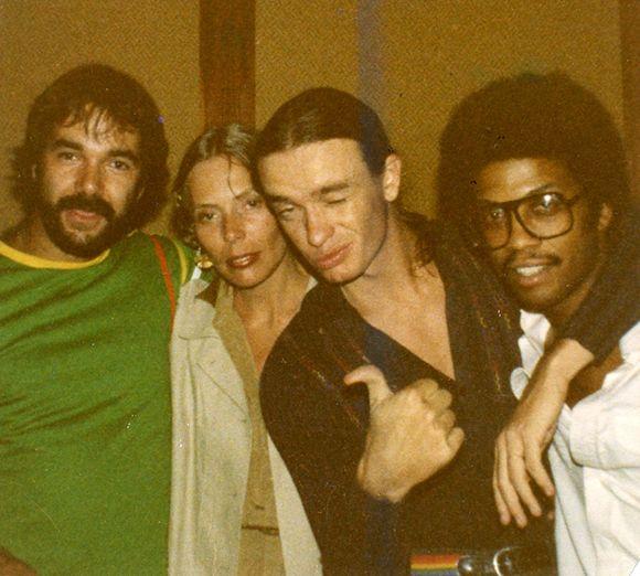 Peter Erskine, Joni Mitchell, Jaco Pastorius, Herbie Hancock