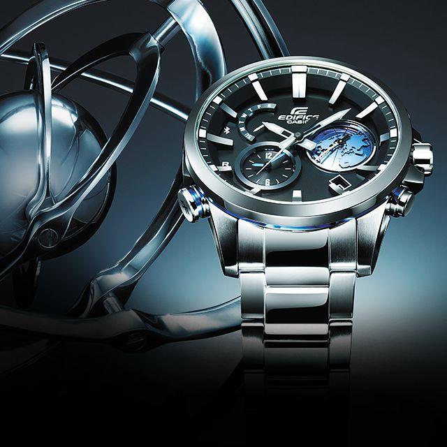 CASIOのBASELWORLD 2016のテーマ「Global Time Sync」は、世界中で「時」を捉え同期する2つの革新的な時刻受信技術、GPSハイブリッド電波ソーラーとスマートフォンリンクを搭載したモデルを中心に真にグローバルで通用する時計を提案します。