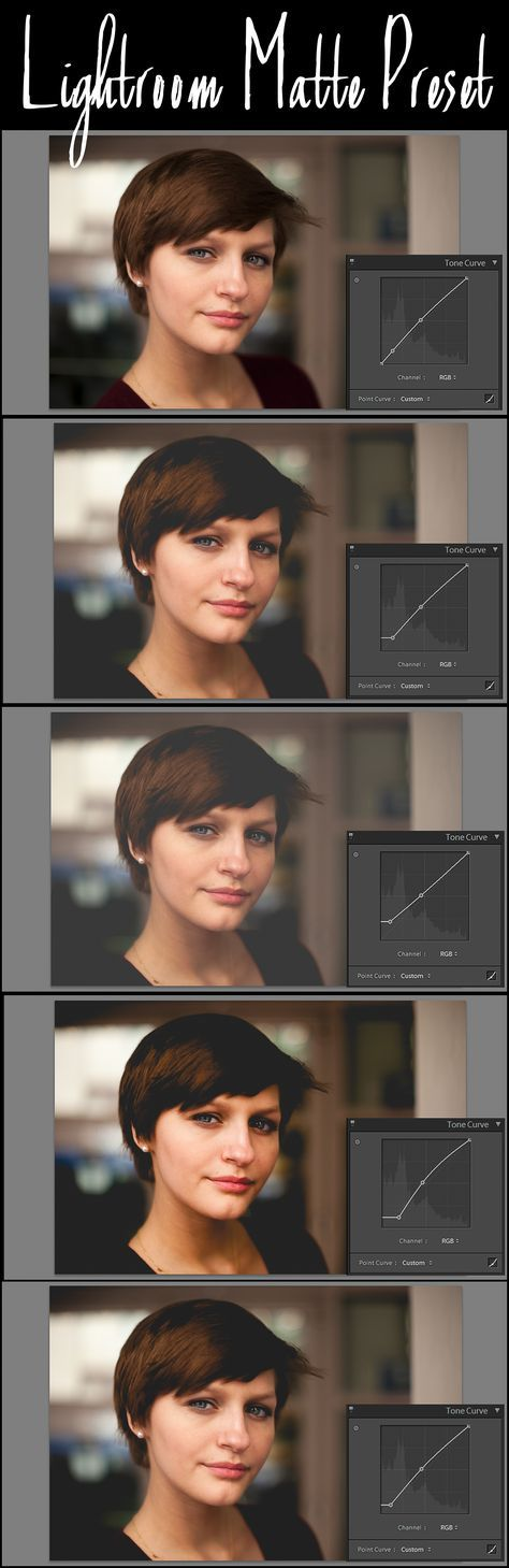 Lightroom Tone Curve Tutorial & Free Matte Preset - Follow my Boards for Photography Inspiration and more FREEBIES at www.pinterest.com/lrtemplates