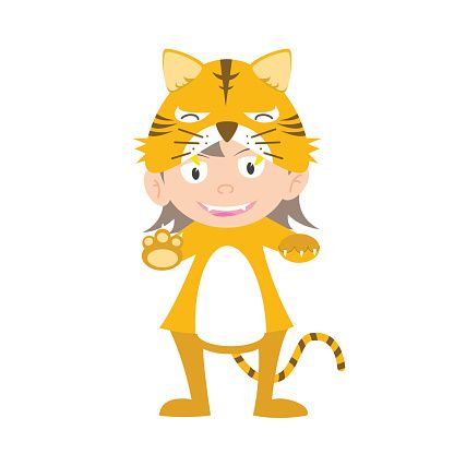 illustration-of-baby-in-a-tiger-fancy-dress-costume-vector-vector-id529496763 (416×416)