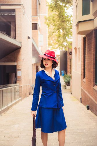 Peggy Carter (Agent Carter)   Source: Christie Cosplay, photo by Rayfy