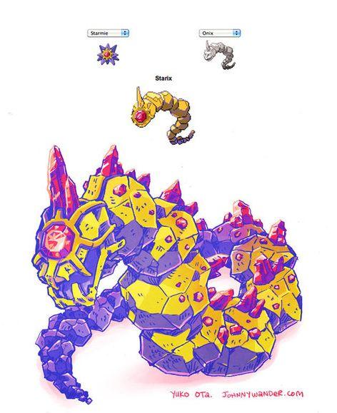 Parks and Rex — theinturnetexplorer:     Pokemon Mashups