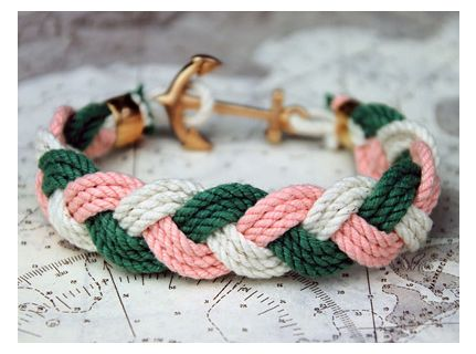 nautical: Anchors, Style, Bracelets, James D'Arcy, Jewelry