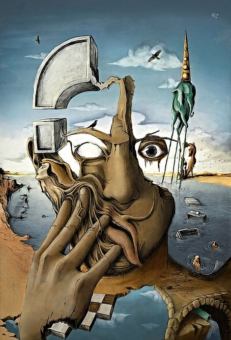 Salvador Dalí, Unknown on ArtStack #salvador-dali-1 #art