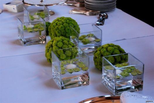 Fiori e allestimenti per un matrimonio in #verde