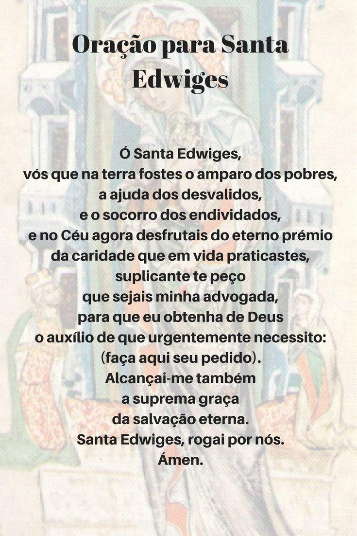 Oração para Santa Edwiges