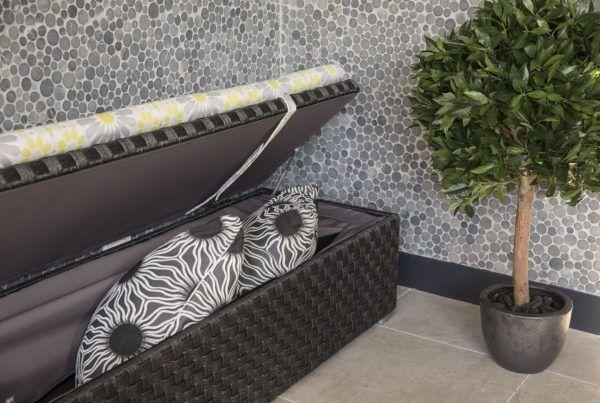 Outdoor - Furniture - Wicker - customised size - Storage box - Mokum - fabric