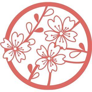 Silhouette Design Store - View Design #12800: flower circle