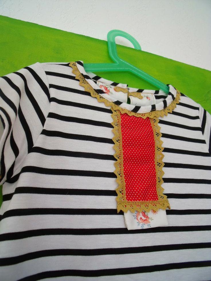Tee shirt d apres Flower Hexagon Ottobre fev14