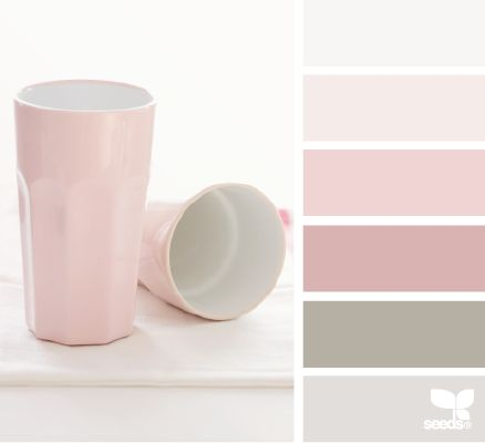 So pretty for a little girls room or nursery. Love the darker muted pink.