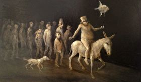 Cromofora La ( Paloma) Contemporary Art Gallery/Magazine: ROLAND DEVOLDER