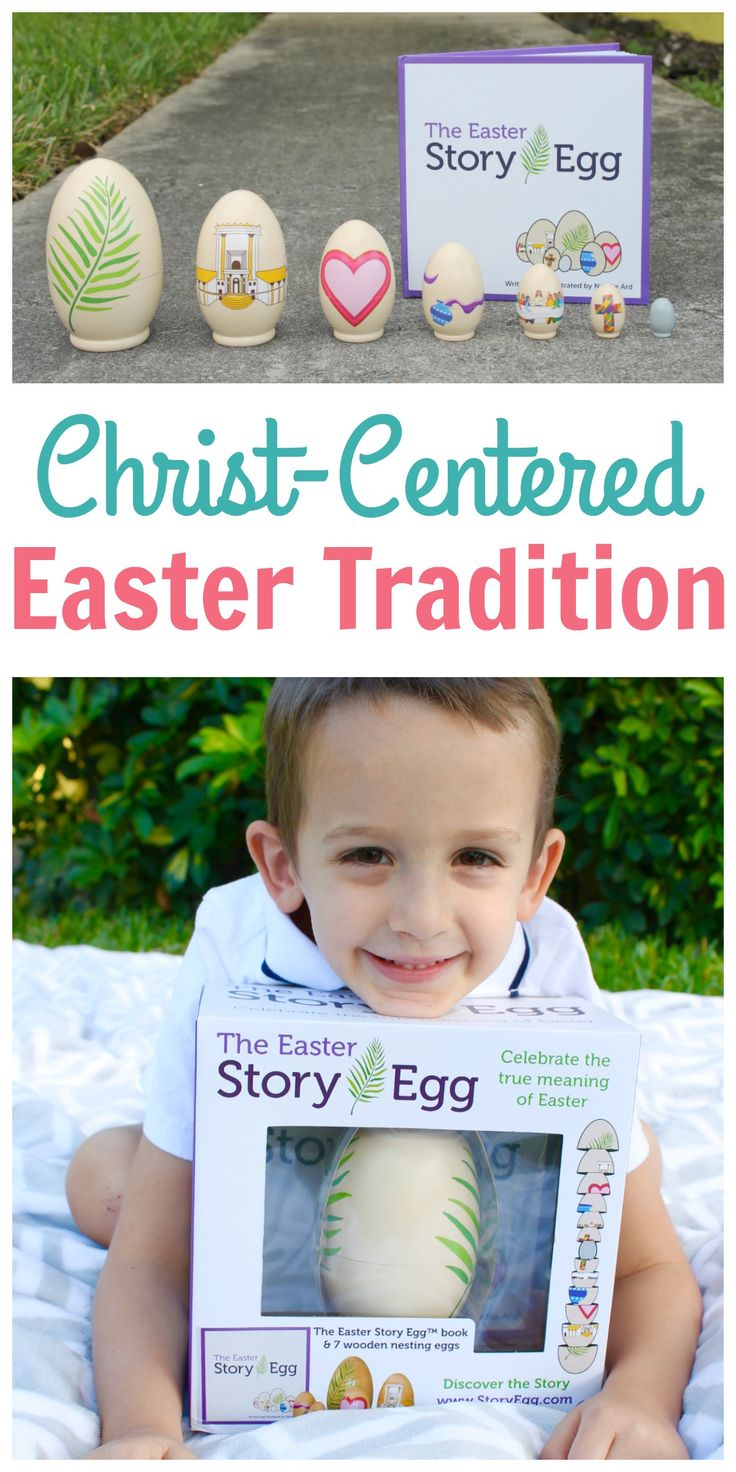 Such a wonderful new Easter tradition that shares the real meaning of EASTER!