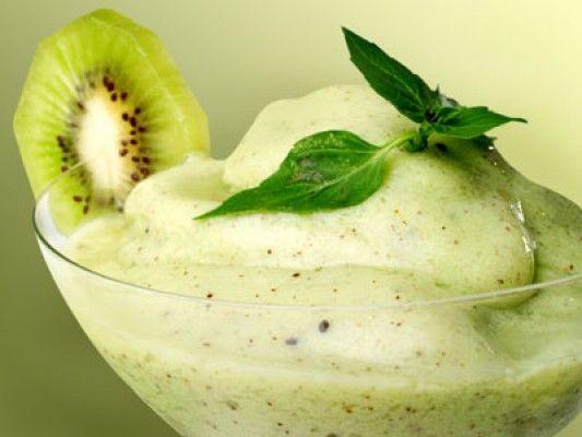 Sorbet au kiwi #recettesduqc #dessert #ete #coupdecoeur