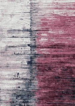 Hand Knotted Rug- Seam Berry- A very modern and stunningly beautiful abstract design  Luxury modern rugs London