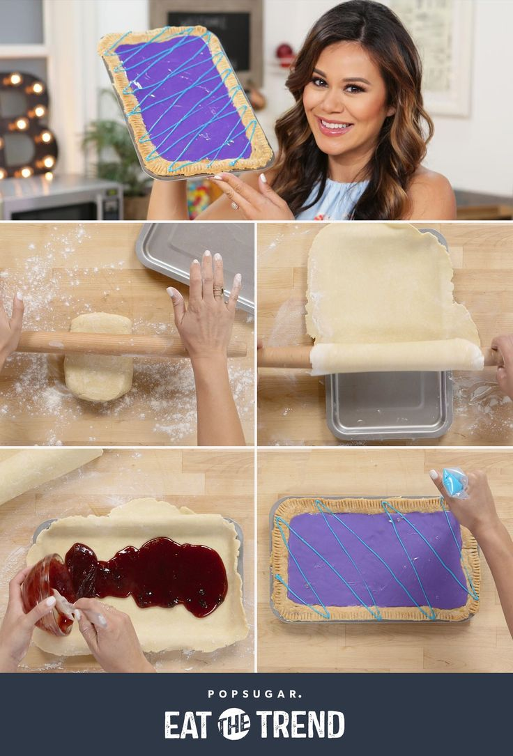 This GIANT Wild Berry Pop-Tart is sure to be a win at your next brunch!