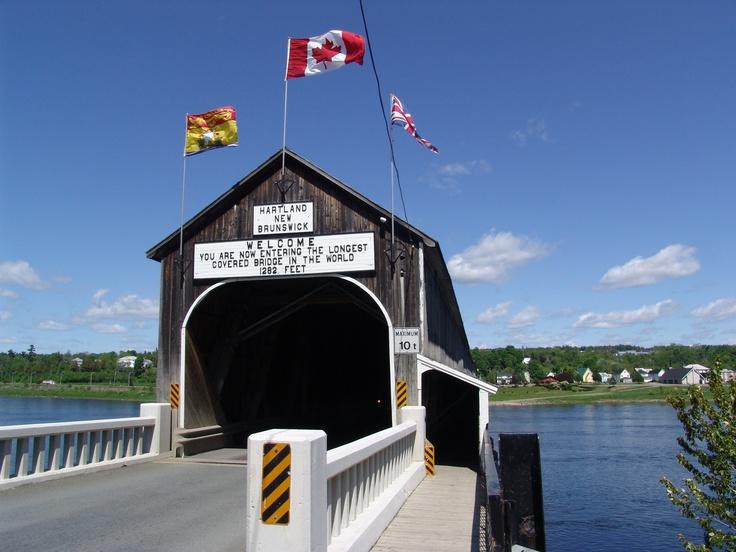Le plus long pont couvert au monde