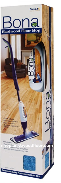 Bona Hardwood Floor Spray Mop, Cleaner Cartridge Spray Mop Kit