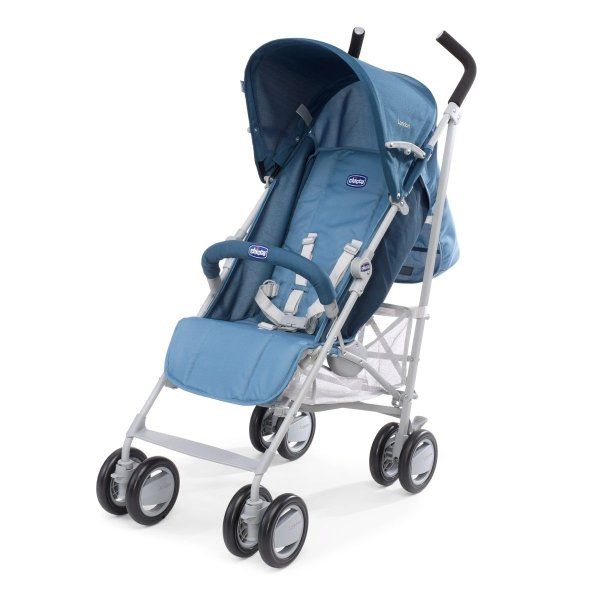 Chicco Wózek spacerowy London z pałąkiem, BLUE | MALL.PL