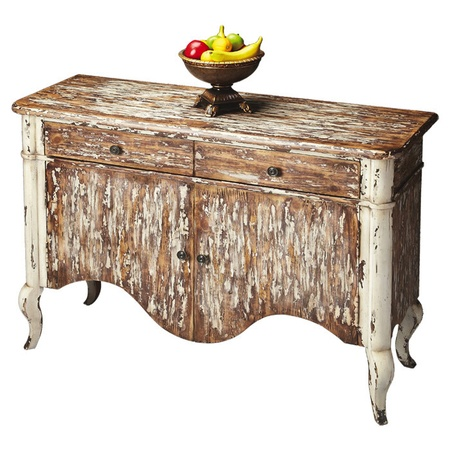 Farmhouse Chest Rustic Furniture Distressed Wood