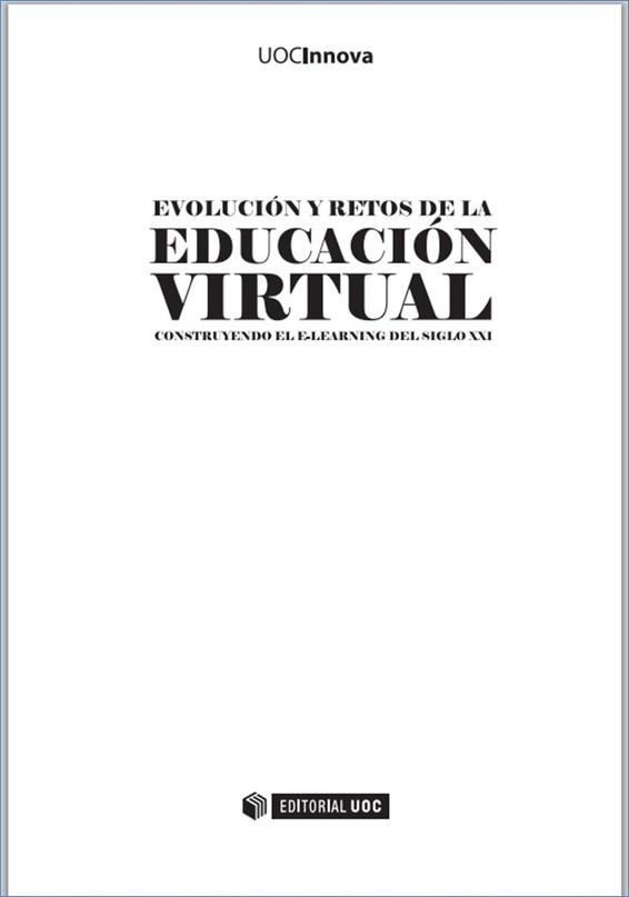 Libro: Evolución y retos de la educación virtual - RedDOLAC - Red de Docentes de América Latina y del Caribe -