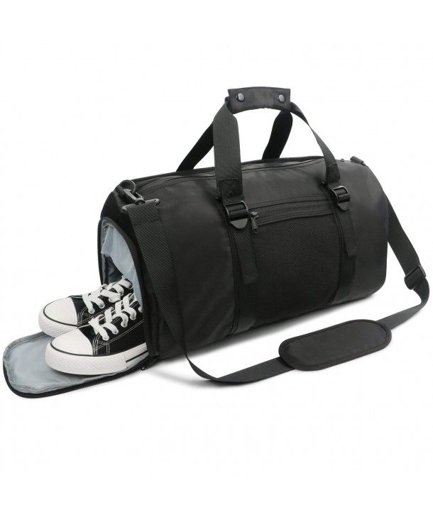 eb940aeb0812 Sports Gym Bag with Shoes Compartment Wet Pocket Lightweight Travel ...